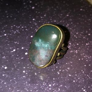 Rustic Stone Ring
